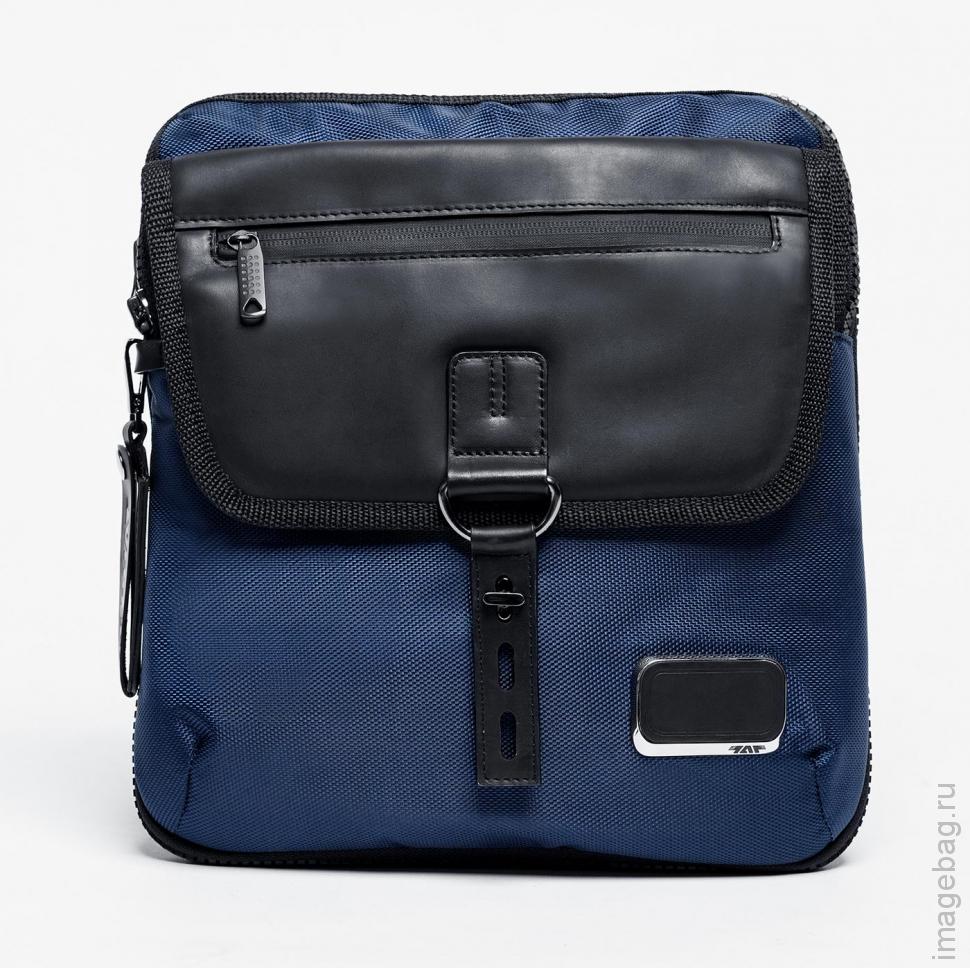 3f8b6ec0150a Сумка через плечо комбинированная синяя ALPHA Y02 blue купить в ...