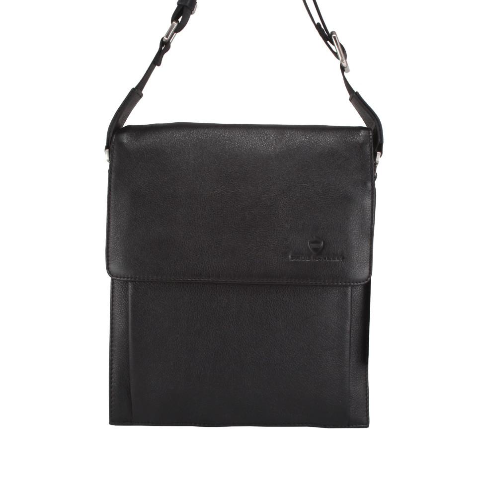 3fe61e35449c Кожаная мужская сумка планшет (черная) 0035858-4-007 купить в Москве ...