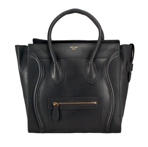 Cумка Celine Luggage Bag 8225CL-BL-1black высота-32 см; длина 30-см; ширина-18 см
