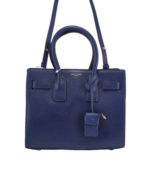 Сумка женская Yves Saint Laurent sac de jour 0115YSLblue высота-25 см; длина30-см; ширина-13см;